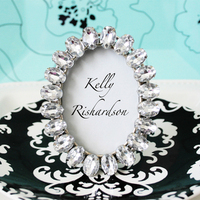 Reception, Flowers & Decor, Favors & Gifts, silver, favor, Picture, Diamond, Frame