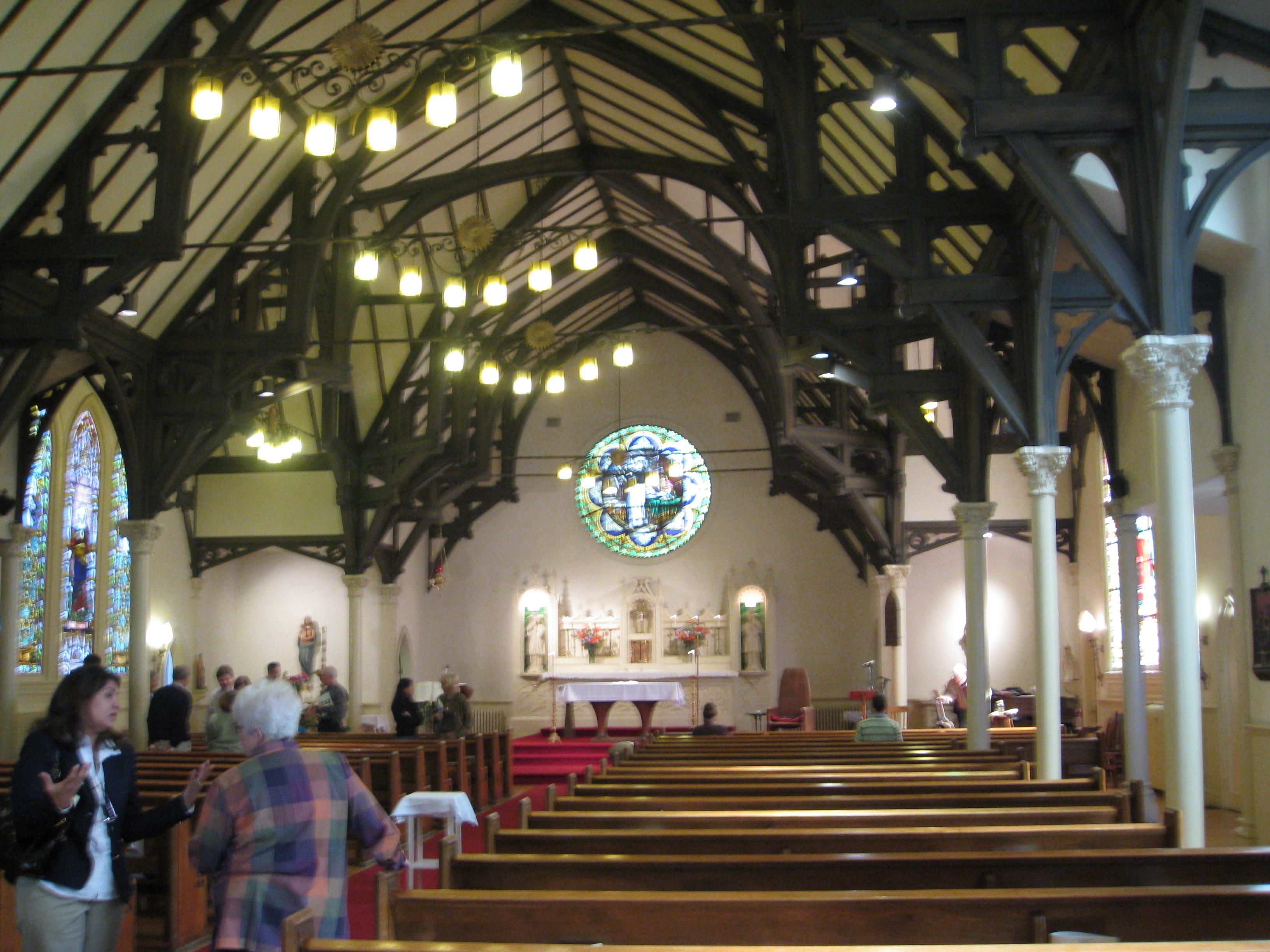 Church, Thomas, Aquinas, Interior_st