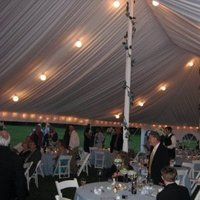 Inspiration, Reception, Flowers & Decor, white, blue, Lighting, Board, Tent, Liner, Uptown events