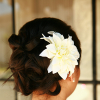 Beauty, Flowers & Decor, white, Bride Bouquets, Bride, Flowers, Hair, Asian, Up-do, Mariah nicole makeup hair artistry