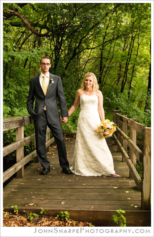 Wedding Dresses, Fashion, dress, Bride, Groom, Bridge, Minneapolis, Trees, John sharpe photography