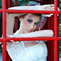 Beauty, white, red, Makeup, Bride, Hair, Vail, White grace photography, Bolero jacket