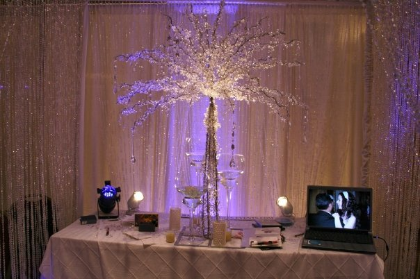 Reception, Flowers & Decor, white, pink, purple, silver, Flowersonmars