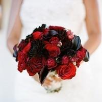 Flowers & Decor, red, Bride Bouquets, Flowers, Roses, Flower, Bouquet