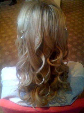Beauty, Down, Bridesmaid, Hair, Half, House, Jesmond, Dene