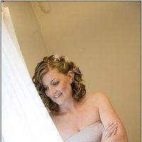 Beauty, Down, Bridesmaid, Hair, Hald