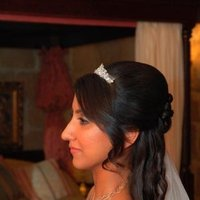 Beauty, Down, Bride, Hair, Half