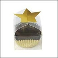 Reception, Flowers & Decor, Favors & Gifts, gold, favor, Candy, Star, Single, State line ribbon trim etc inc