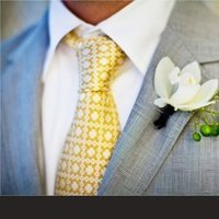 Fashion, yellow, Men's Formal Wear, Grey, Tie, Suit