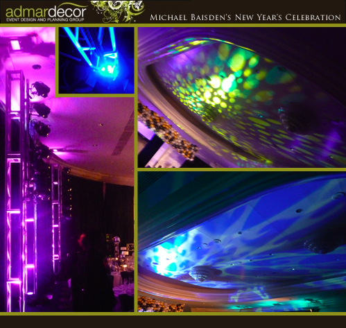 Ceremony, Reception, Flowers & Decor, gold, Lighting, Wedding, Room, Lights, Gobos, Admardecor event design planning group