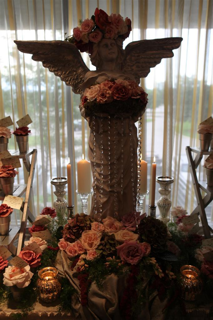 Reception, Flowers & Decor, white, pink, brown, silver, gold, Table, Card, Place, The royal gala