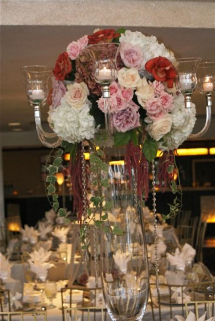 Flowers & Decor, white, pink, brown, silver, gold, Flowers, The royal gala