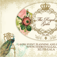 Ceremony, Reception, Flowers & Decor, Stationery, white, pink, blue, green, brown, silver, gold, Invitations, The royal gala
