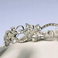 Jewelry, silver, Tiaras, Tiara