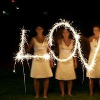 Reception, Flowers & Decor, Bridesmaids, Bridesmaids Dresses, Fashion, yellow, black, Sparklers, Events by elaine
