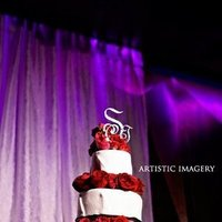Cakes, red, black, cake, Modern, Modern Wedding Cakes, Roses, Wedding, Romantic, Club, Sugar and spice and
