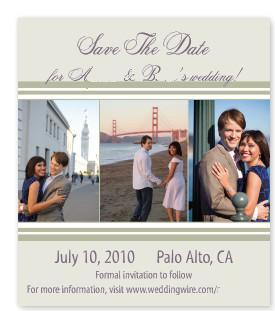 The, Save, Date, Magnet, Costco