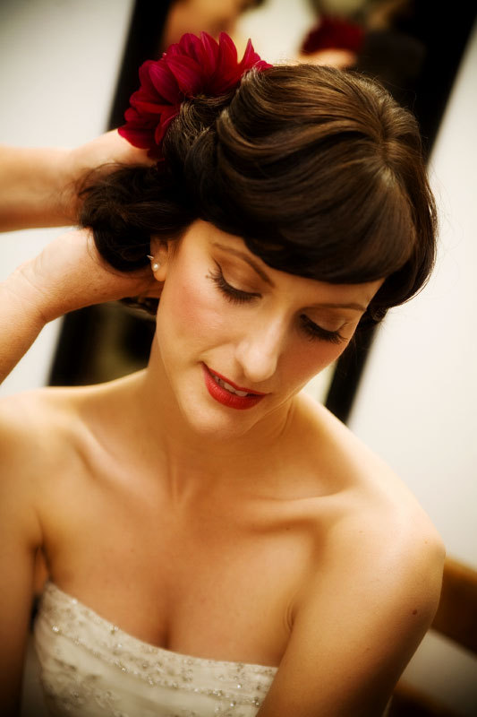 Beauty, white, red, Makeup, Bride, Getting, Ready, Fino photography