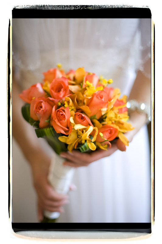 Flowers & Decor, orange, green, Bride Bouquets, Bride, Flowers, Bouquet, Holding, Fino photography