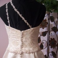 Wedding Dresses, Lace Wedding Dresses, Fashion, pink, dress, Lace, Full, One, Silk, Shoulder, Beaded, Blush, Skirt, Formals more, Silk Wedding Dresses