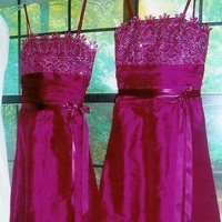 Bridesmaids, Bridesmaids Dresses, Wedding Dresses, Lace Wedding Dresses, Fashion, pink, dress, Bridesmaid, Lace, Silk, Formals more, Silk Wedding Dresses