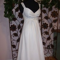 Wedding Dresses, Beach Wedding Dresses, Fashion, white, dress, Beach, Train, Beading, Chiffon, Formals more, Detatchable, Beaded Wedding Dresses, Chiffon Wedding Dresses