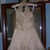Bridesmaids, Bridesmaids Dresses, Wedding Dresses, Fashion, gold, dress, Bridesmaid, Halter, Jr, Silk, Formals more, halter wedding dresses, Silk Wedding Dresses