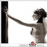 Wedding Dresses, Fashion, white, black, dress, Bride, Portrait, Redwall photo