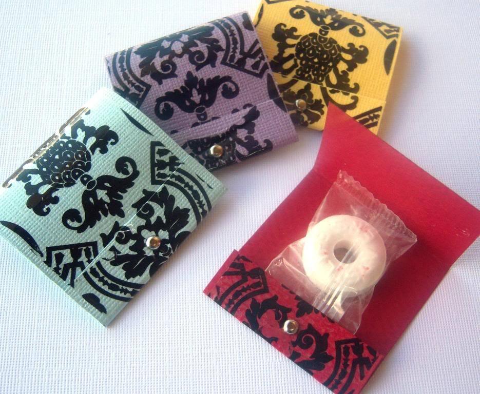 Reception, Flowers & Decor, black, Damask, Mint matchbooks
