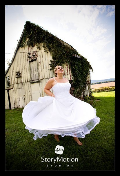 Ceremony, Reception, Flowers & Decor, Wedding Dresses, Fashion, white, blue, green, dress, Bride, Outdoor, Barn, Farm, Mountain, Fields, The comus inn