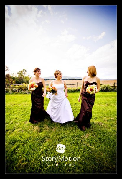 Ceremony, Reception, Flowers & Decor, Bridesmaids, Bridesmaids Dresses, Fashion, white, red, blue, green, gold, Ceremony Flowers, Bride Bouquets, Bridesmaid Bouquets, Bride, Outdoor, Flowers, Barn, Farm, Fields, The comus inn, Flower Wedding Dresses