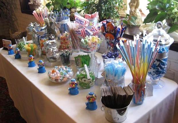 Custom candy buffet bars