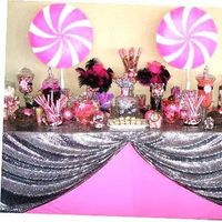 Custom candy buffet bars