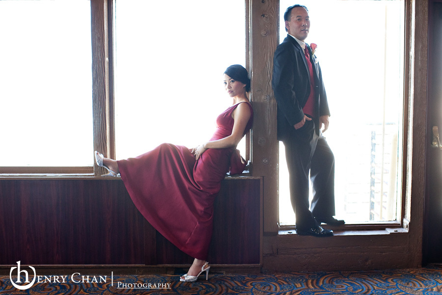 Reception, Flowers & Decor, red, black, Bride, Groom, Henry chan photography