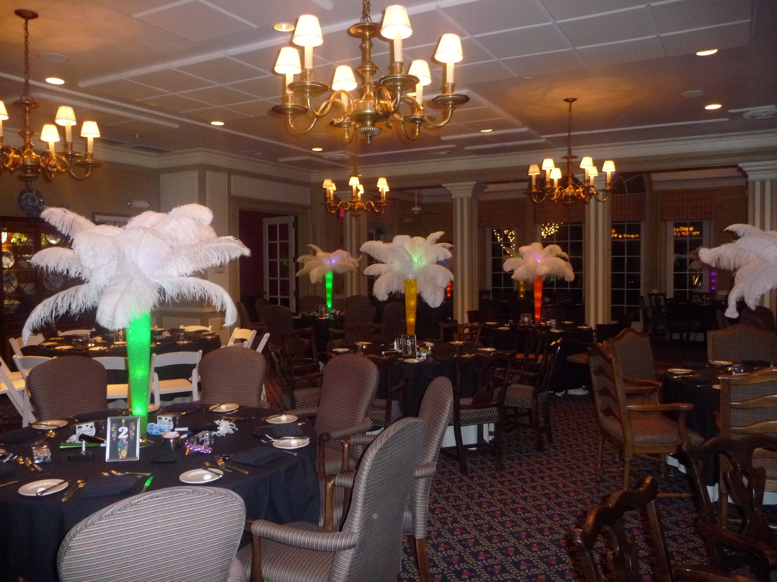 Beauty, Ceremony, Inspiration, Reception, Flowers & Decor, white, yellow, orange, pink, red, purple, blue, green, brown, black, gold, Feathers, Ceremony Flowers, Centerpieces, Flowers, Board, Rental, Feather, Ostrich, Savannah event decor
