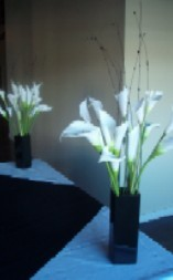 Ceremony, Inspiration, Reception, Flowers & Decor, white, black, Ceremony Flowers, Flowers, Board, Savannah event decor