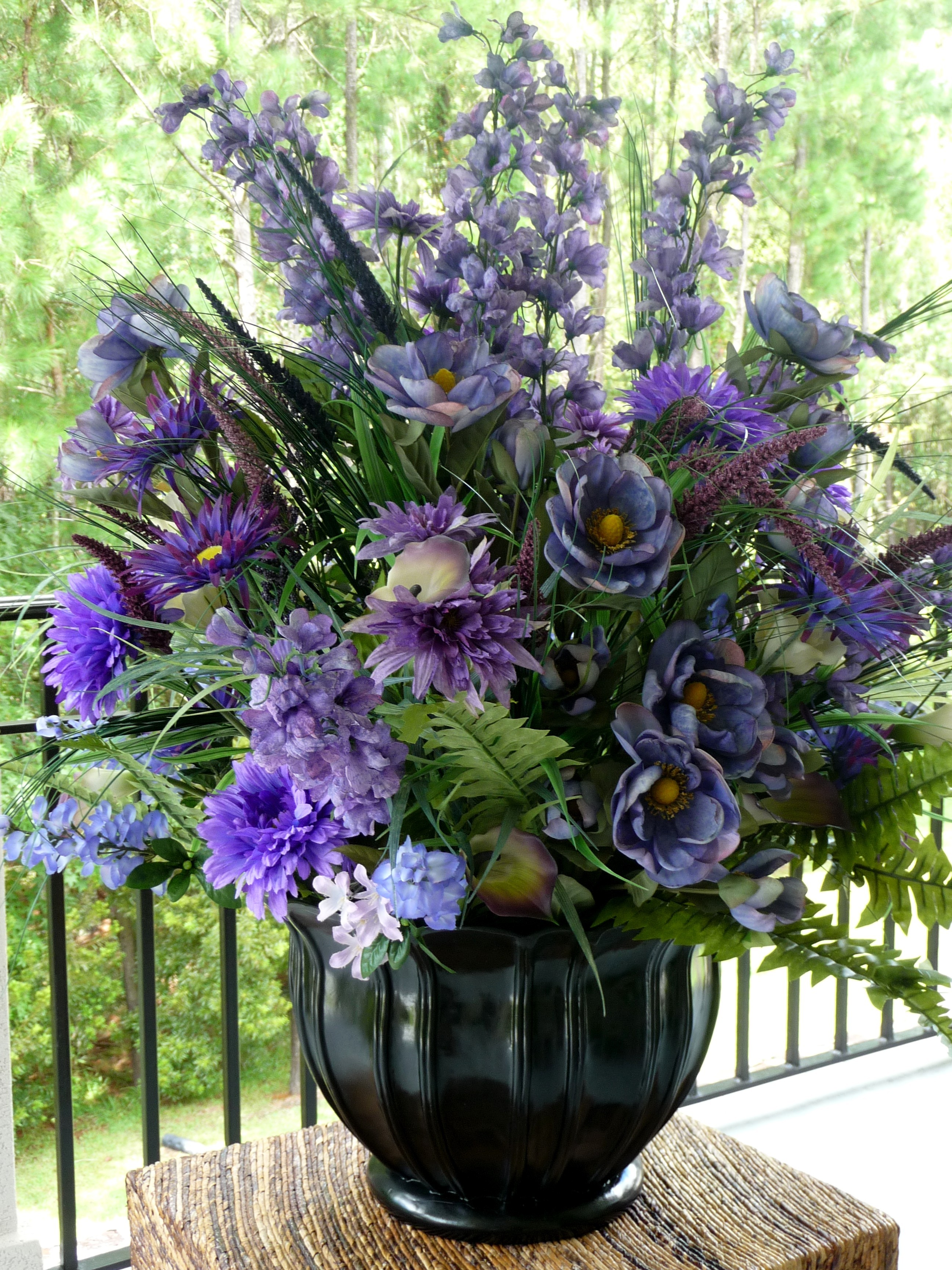 Ceremony, Inspiration, Reception, Flowers & Decor, purple, green, Ceremony Flowers, Centerpieces, Flowers, Wedding, Board, Urn, Silks, Savannah event decor