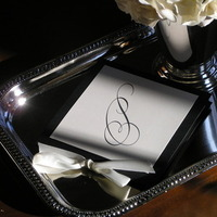 Ceremony, Inspiration, Flowers & Decor, Stationery, white, black, Invitations, Wedding, Program, Board