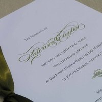 Ceremony, Inspiration, Flowers & Decor, Stationery, white, green, Invitations, Wedding, Program, Board, Bespoke