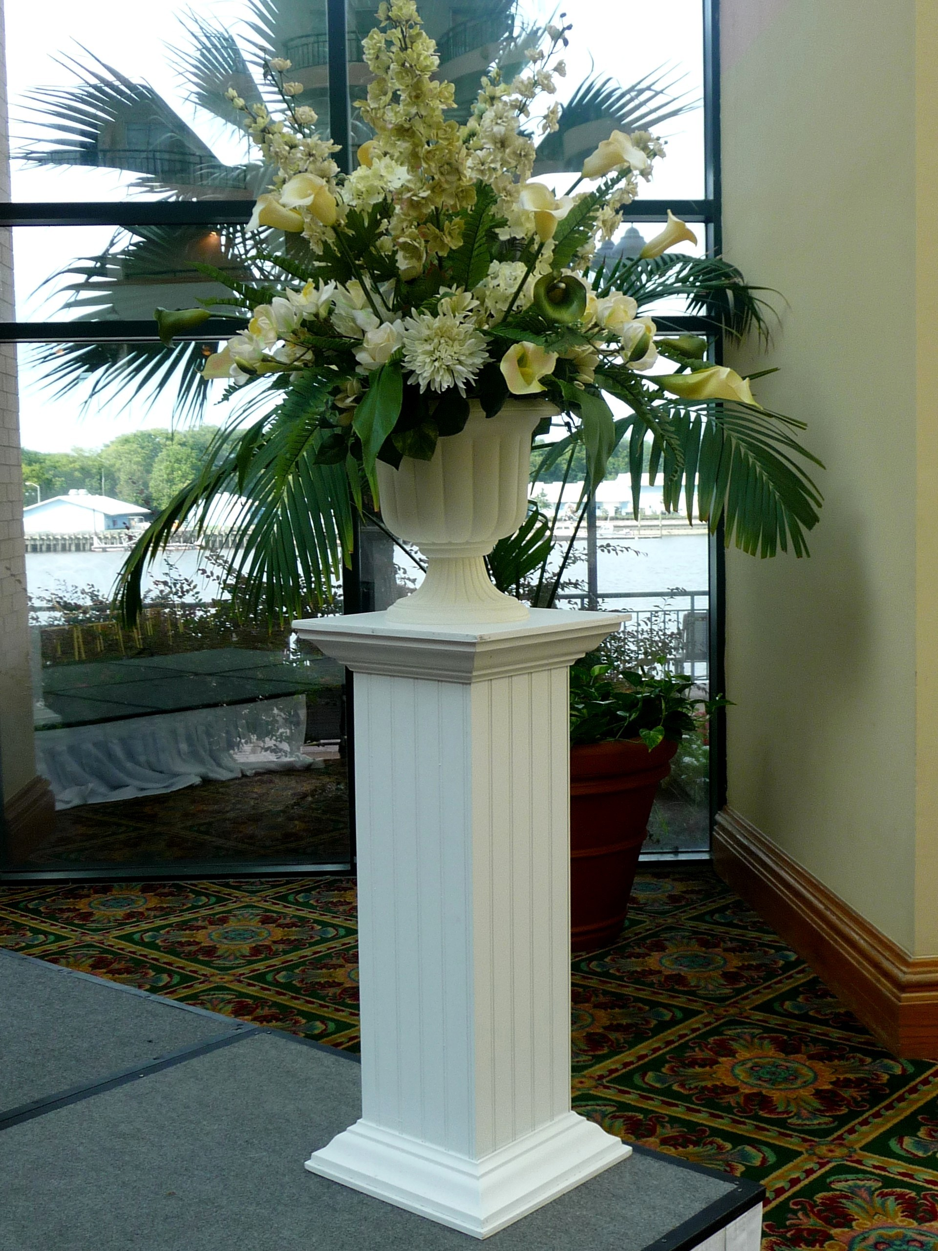 Ceremony, Inspiration, Reception, Flowers & Decor, white, Ceremony Flowers, Flowers, Board, Savannah event decor