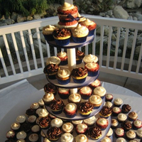 Cakes, cake, Cupcakes, Wedding, Simple, For the love of sugar