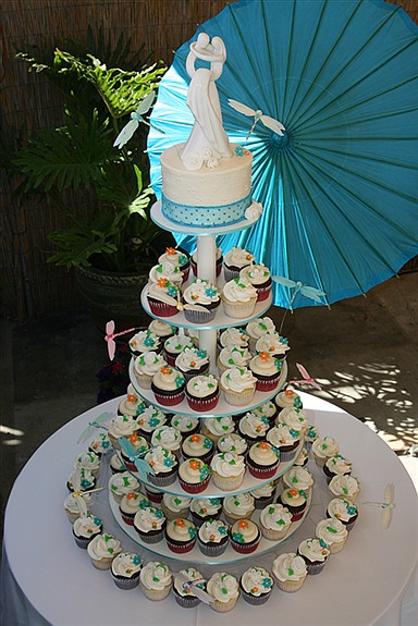 Cakes, cake, Cupcakes, Wedding, Dragonfly, For the love of sugar