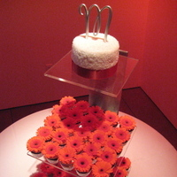 Flowers & Decor, Cakes, orange, cake, Cupcakes, Flower, Wedding, Fresh, For the love of sugar