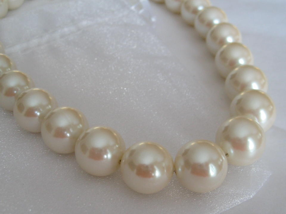 Jewelry, ivory, Necklaces, Necklace, Pearl, Maisie, Jewelrly