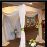 Ceremony, Flowers & Decor, ivory, green, brown, Ceremony Flowers, Flowers, Canopy, Watkins event decor