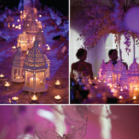 white, purple, Lantern, Moroccan