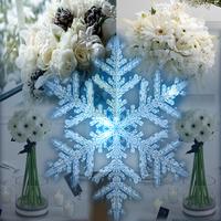 Ceremony, Inspiration, Reception, Flowers & Decor, white, blue, silver, Ceremony Flowers, Centerpieces, Winter, Flowers, Centerpiece, Wedding, Board, Snowflakes