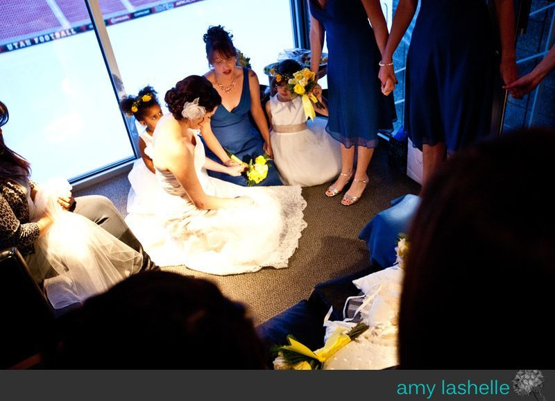 Ceremony, Flowers & Decor, yellow, blue, Prayer, Pre-ceremony, Amy lashelle