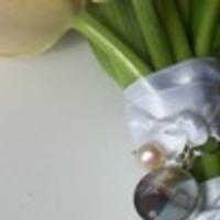 Flowers & Decor, Jewelry, white, silver, Bride Bouquets, Bride, Flowers, Bouquet, By lynn krestel