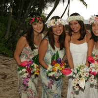 Beauty, Inspiration, Flowers & Decor, Bridesmaids, Bridesmaids Dresses, Wedding Dresses, Beach Wedding Dresses, Fashion, dress, Beach, Bridesmaid Bouquets, Flowers, Beach Wedding Flowers & Decor, Wedding, Hair, Board, Hawaiian, Dresses, Hawaiian wedding shop, Flower Wedding Dresses
